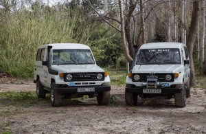 our fleet jeep safari