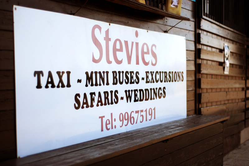 Safari Wedding Taxi