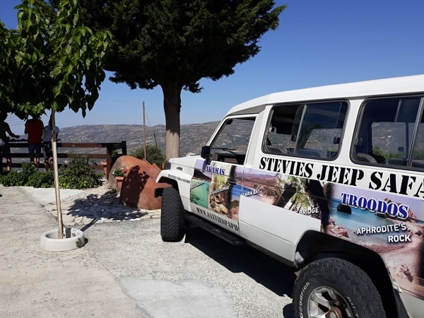 Troodos Jeep Cyprus