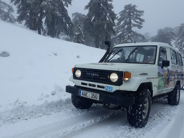Troodos snows